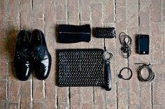 Essentials: Matthewzz Ng | Hypebeast #studs #essentials #black #all