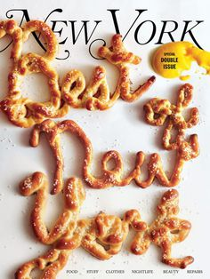 A Look at the Best of the Best of New York Cover CompetitionNew York Magazine #cover #photography #food