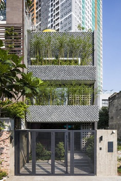 Pattern House Inspired by Vietnamese Modernism Heritage