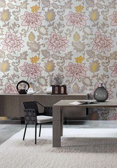 Geometric and Floral Motifs in Bright Colors by Bisazza