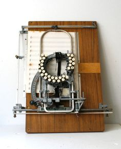 Rare Keaton Music Typewriter #machines #typewriters #vintage #inventions