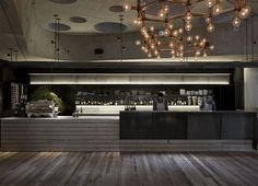 Concrete Hotel Decor in Canberra - #hotel, #interior