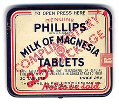 All sizes | milk of magnesia | Flickr - Photo Sharing! #graphic design #packaging