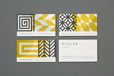 Balla Dora Typo Grafika: Design and illustration boutique Eight Hour Day created the visual identity for Engler Studio #print #branding