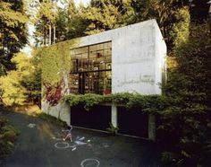 The Pursuit Aesthetic #green #bookcases #libraries #landscapes #architecture #glazing #facades
