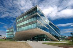 Architecture Photography: Administrative Headquarters From Groupe E / Ipas Architectes - Administrative Headquarters From Groupe E / Ipas Architectes #architecture
