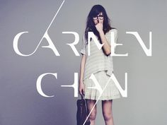 Carmen Chan Photography logo #inspiration #logo #design #type