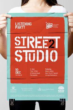 Poster Design #handlebranding #designer #typography #red #teal #poster