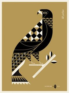 Lab Partners #illustration #eagle #gold