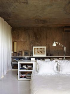 CJWHO ™ #design #architecture #bed #bedroom #barcelona #interiors