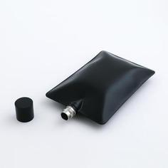 Liquid Body Flask (Black) - The VinePair Store