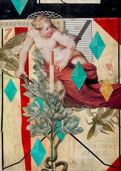 Eduardo Recife - Constant Battle | Daily Art Fixx Shop - Contemporary Art Gallery #artist #collage #art
