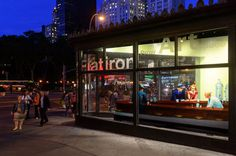 whitney hopper nighthawks designboom 02 #whitney #flatiron #installation #york #hopper #nighthawk #new