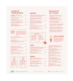 Vegetarian Restaurant branding design - by Lucas Jubb