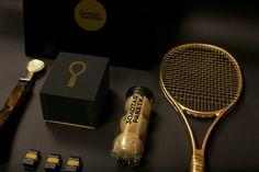 Golden Racket Identity on Behance