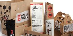 Tacos andTequila - The Dieline: The World's #1 Package Design Website -