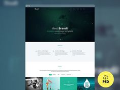 Brandi : One Page Multi-Purpose PSD Template