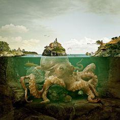 Arrivederci, mostro! | Flickr - Photo Sharing! #de #octopus #photograph #paolino #francesco