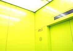 IMG_5093 | Flickr - Photo Sharing! #yellow #photography #elevator
