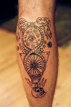 Toutes les tailles | East River Tattoos | Flickr: partage de photos! #tatto