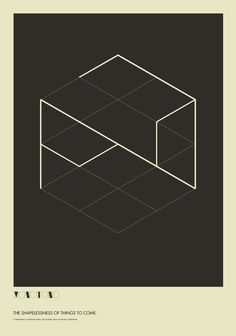 The Absurdity of Form | BLDGWLF #abstract #shapelessness #lines #design #graphic #minimalism #geometric #cube