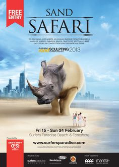 advertising #rhino #sand #advertising