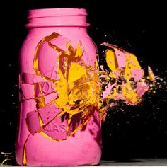 Colorful High Speed Photography