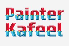 HandPaintedType | Painters #handpainted #typography