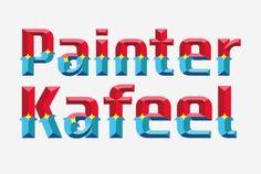 HandPaintedType   Painters #handpainted #typography