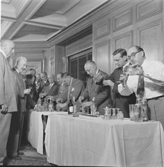 vintage men drinking martinis #drinking #photo #retro #men #vintage #cocktail #martini