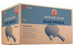 New Belgium Blue Paddle #packaging #beer