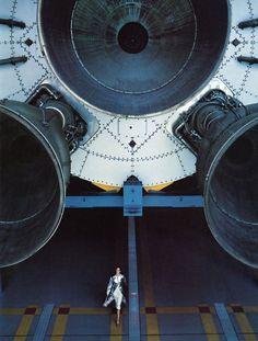 OTAKU GANGSTA #thruster #space #ship #hanger #rocket