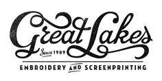 Great Lakes #type #logo #branding