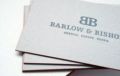 Barlow & Bishop « Stitch Design Co. #branding #identity #stationary
