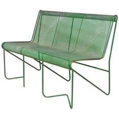"Mathieu Mategot ""Casablanca"" Bench, circa 1950 France For Sale"
