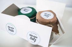 BÄRLAUCH PESTO & SALZ - Packaging Design by Ricarda Schweigler #packaging #food #design #branding