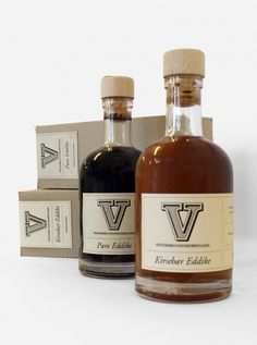 Online portfolio of Simon Lund #packaging #vinegar #brand #vintage #logo #salp