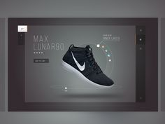 Nike Product ID #interface #shoe #product #digital #nike