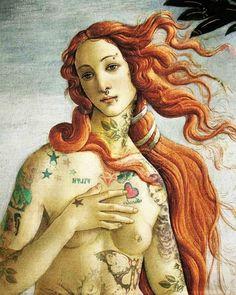 venus tattoo by ~francescanoemi on deviantART #tattoo #photoshop #venus #by