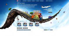 Composition Inspiration PEPSI #creative #airplane #design #travel #road #pepsi