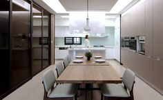 Renovation by Mole design renovation shi house kitchen 4 #kitchen #table #design #dining