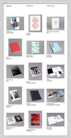 Holger Huber website #website #portfolio #web