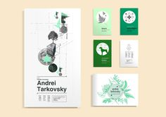 Andrei Tarkovsky on Behance #print #collage #design #system