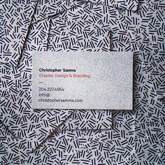 Christopher Samms #cards #business