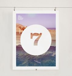 World in 7 islands on the Behance Network #design #graphic #poster
