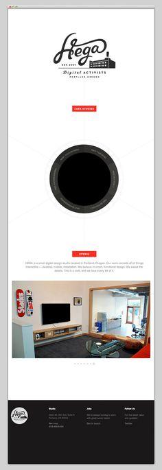 Hega #website #layout #design #web