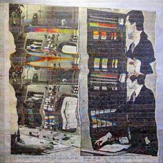 Alejand Robombin | PICDIT #painting #glitch #art
