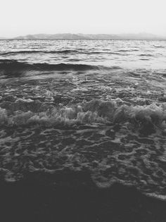 And you. #white #water #black #sea #summer #and #horizon