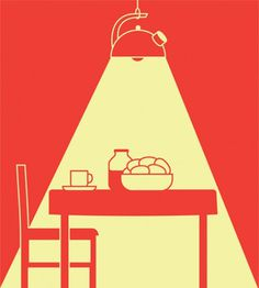 coqueterías - quierohablarconelgerente: vizualize: Lamps by... #pink #print #coral