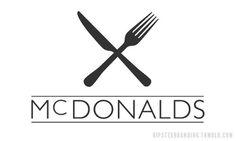 Hipster Branding #hipster #mcdonalds #branding